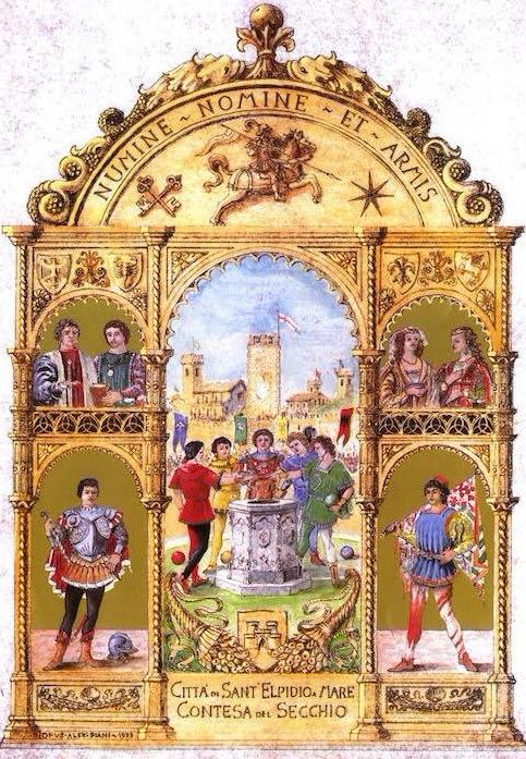 immagine storica contesa del secchio copia